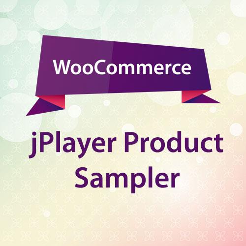 WooCommerce jPlayer Product Sampler