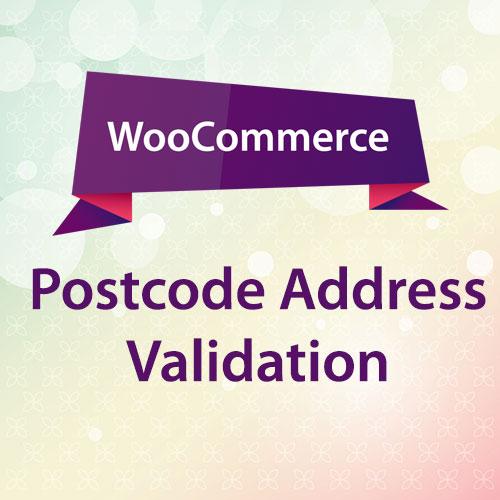 WooCommerce Postcode Address Validation