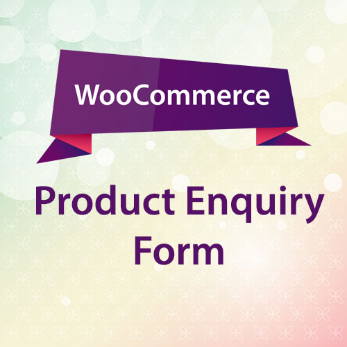 WooCommerce Product Enquiry Form