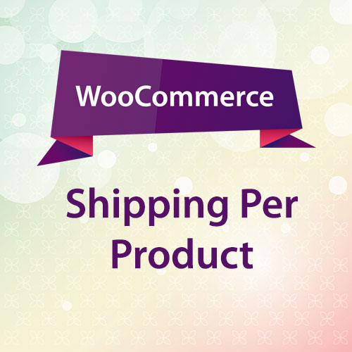 WooCommerce Shipping Per Product