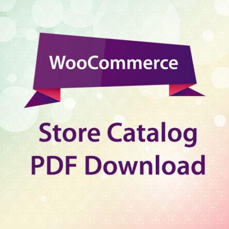 WooCommerce Store Catalog PDF Download