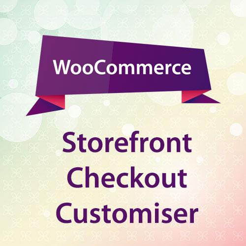 WooCommerce Storefront Checkout Customiser