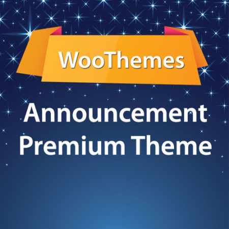 WooThemes Announcement Premium Theme