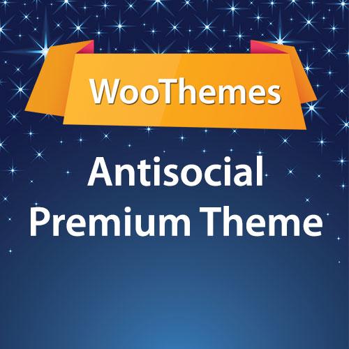 WooThemes Antisocial Premium Theme