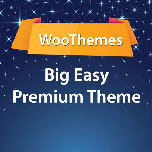 WooThemes Big Easy Premium Theme