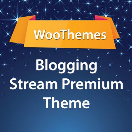 WooThemes Blogging Stream Premium Theme