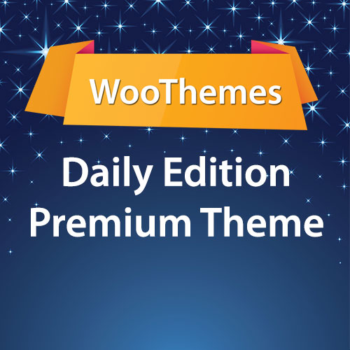 WooThemes Daily Edition Premium Theme