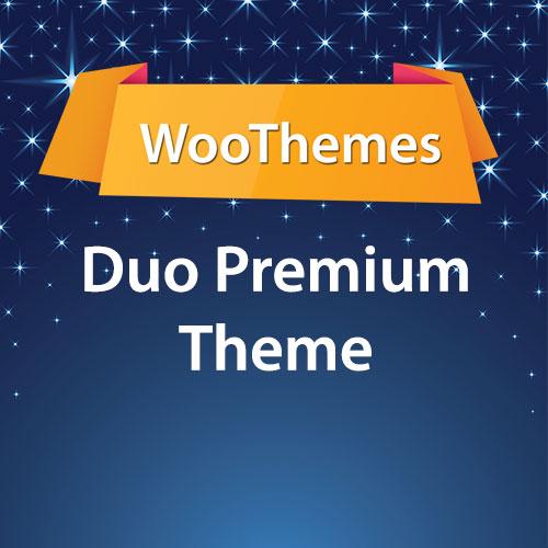 WooThemes Duo Premium Theme