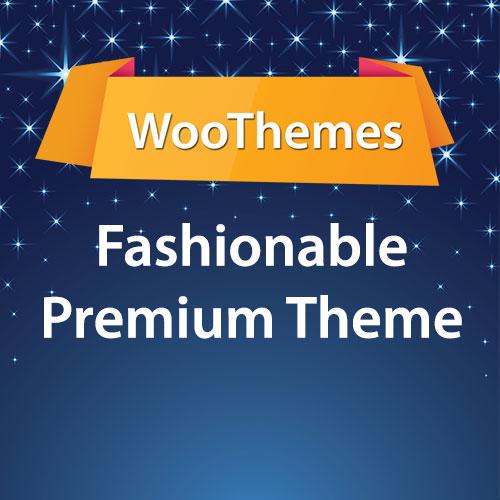 WooThemes Fashionable Premium Theme