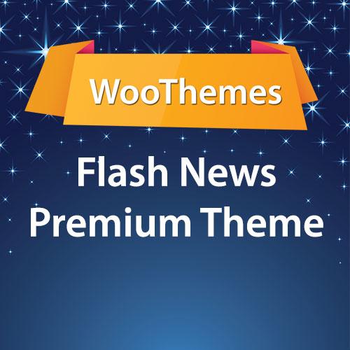 WooThemes Flash News Premium Theme