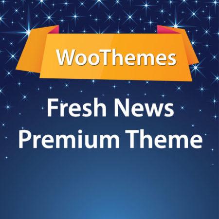 WooThemes Fresh News Premium Theme
