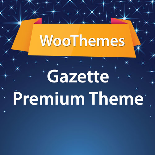 WooThemes Gazette Premium Theme
