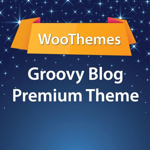 WooThemes Groovy Blog Premium Theme