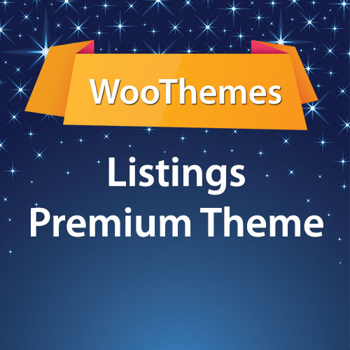 WooThemes Listings Premium Theme