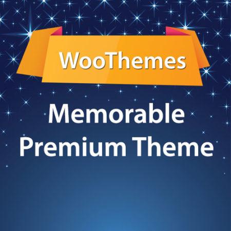 WooThemes Memorable Premium Theme