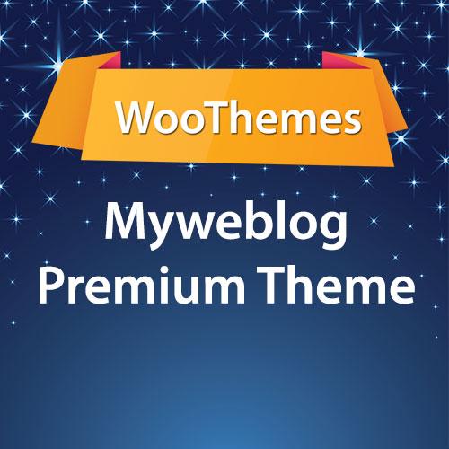 WooThemes Myweblog Premium Theme