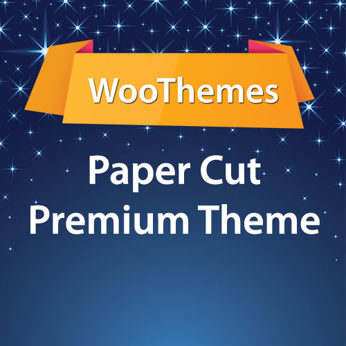 WooThemes Paper Cut Premium Theme