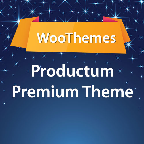WooThemes Productum Premium Theme