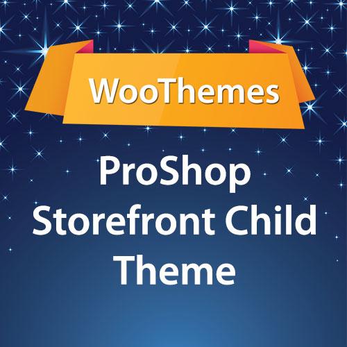 WooThemes ProShop Storefront Child Theme