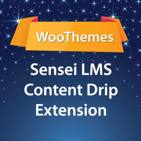 WooThemes Sensei LMS Content Drip Extension