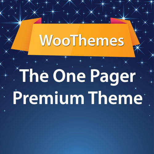 WooThemes The One Pager Premium Theme