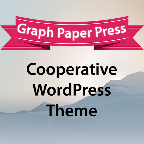 graph paper press cooperative wordpress theme gpl guru