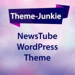 NewsTube WordPress Theme