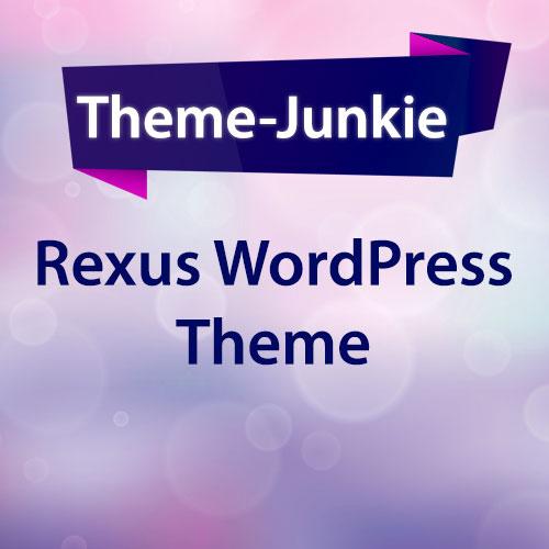 Rexus WordPress Theme