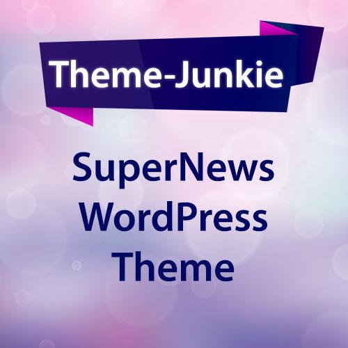 SuperNews WordPress Theme