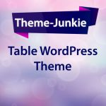 Table WordPress Theme