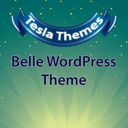 Tesla Themes Belle WordPress Theme