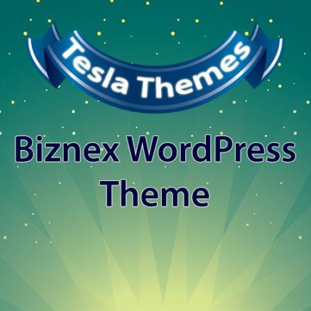Tesla Themes Biznex WordPress Theme