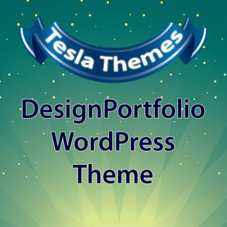 Tesla Themes DesignPortfolio WordPress Theme