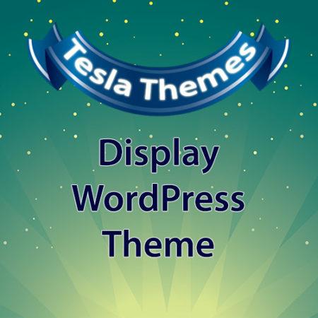Tesla Themes Display WordPress Theme