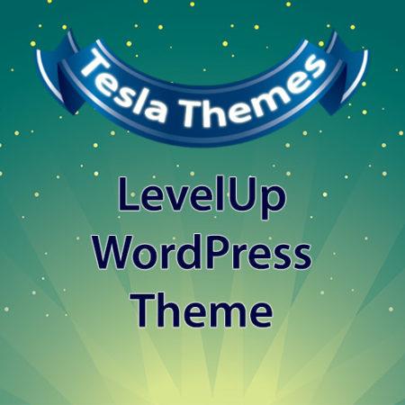 Tesla Themes LevelUp WordPress Theme