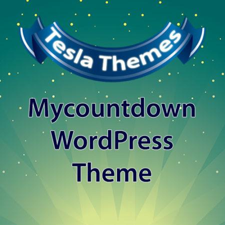 Tesla Themes Mycountdown WordPress Theme