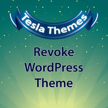 Tesla Themes Revoke WordPress Theme