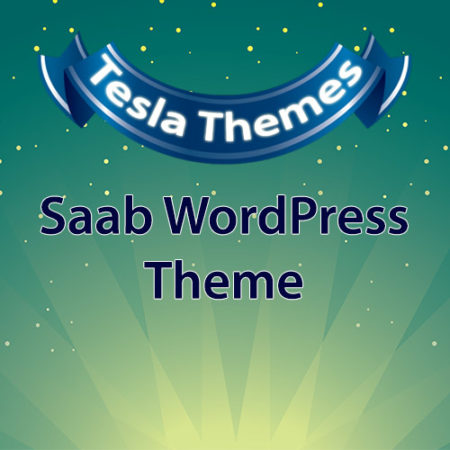 Tesla Themes Saab WordPress Theme