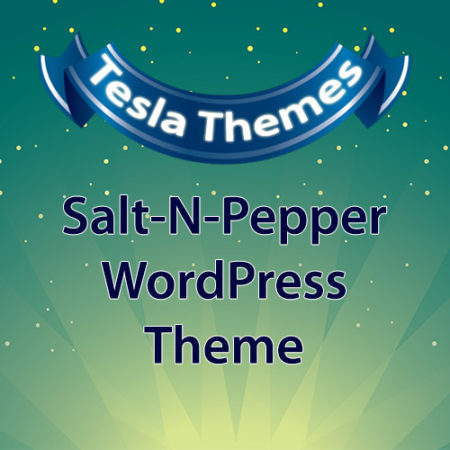 Tesla Themes Salt-N-Pepper WordPress Theme