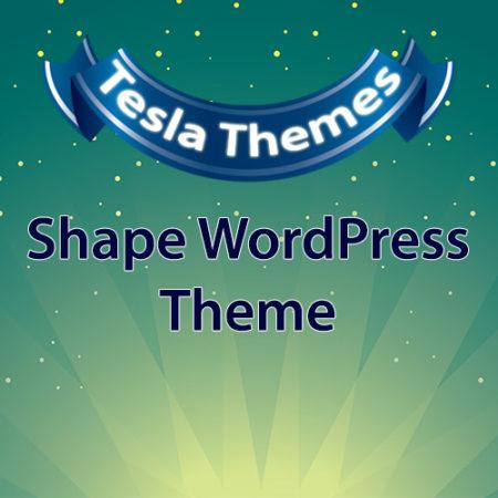 Tesla Themes Shape WordPress Theme