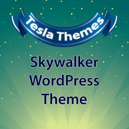 Tesla Themes Skywalker WordPress Theme