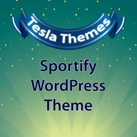Tesla Themes Sportify WordPress Theme