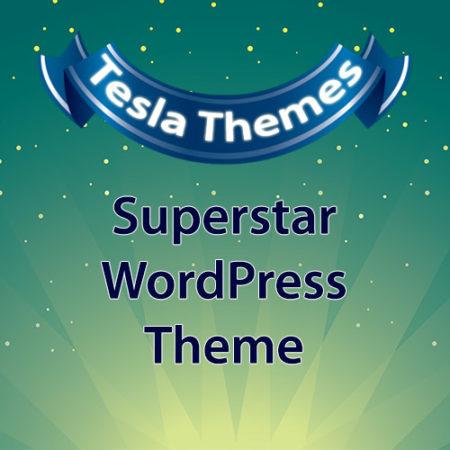 Tesla Themes Superstar WordPress Theme