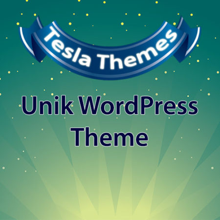 Tesla Themes Unik WordPress Theme