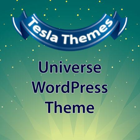 Tesla Themes Universe WordPress Theme