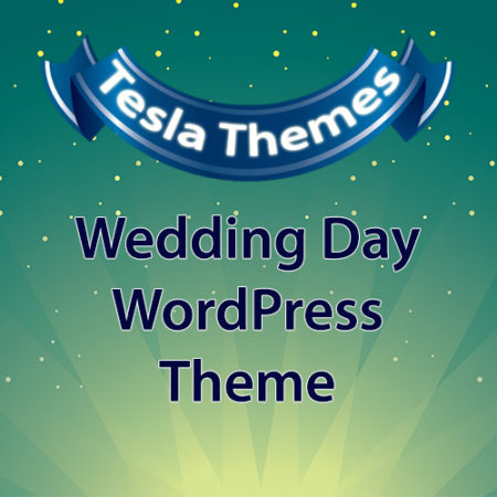 Tesla Themes Wedding Day WordPress Theme