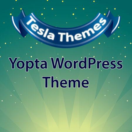 Tesla Themes Yopta WordPress Theme