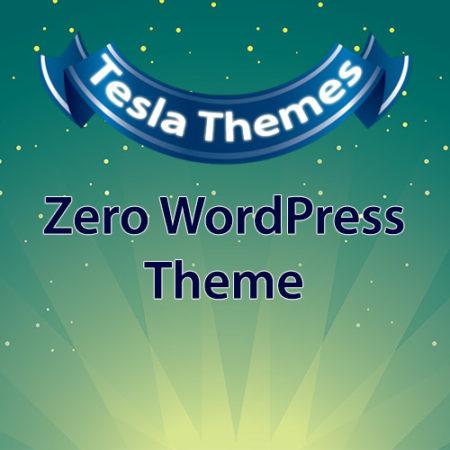 Tesla Themes Zero WordPress Theme