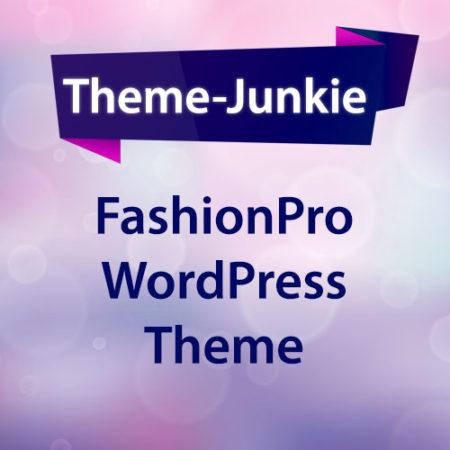 Theme Junkie FashionPress WordPress Theme