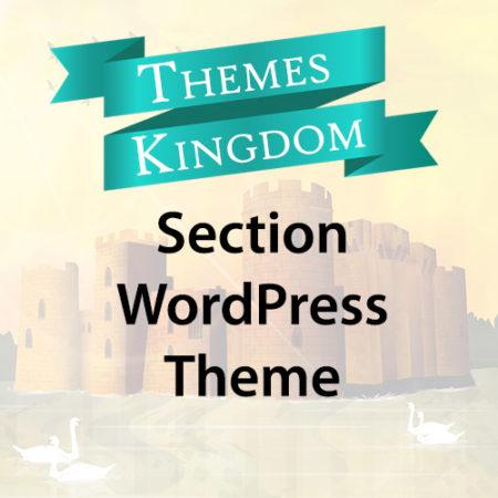Themes Kingdom Section WordPress Theme